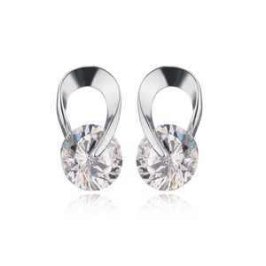 Jewelry - COMING SOON!! 925 Silver CZ Drop Stud Earrings
